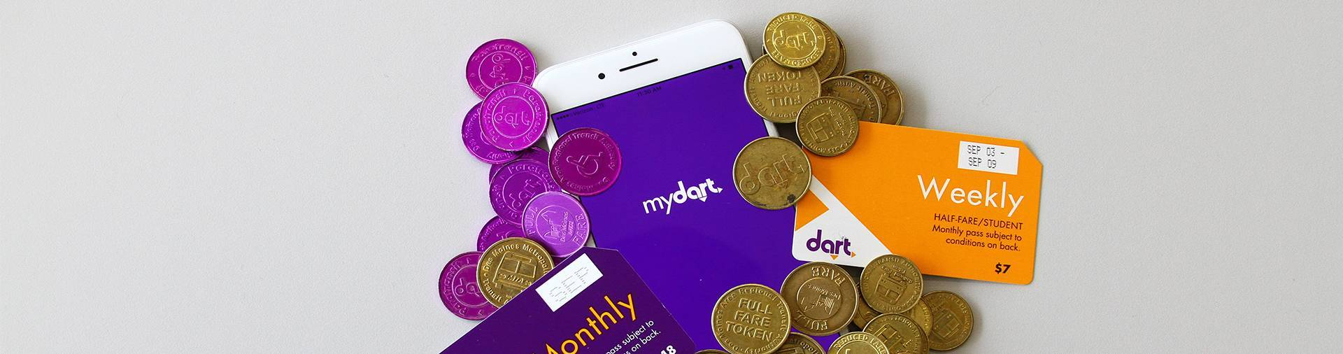 A new way to pay with MyDART App