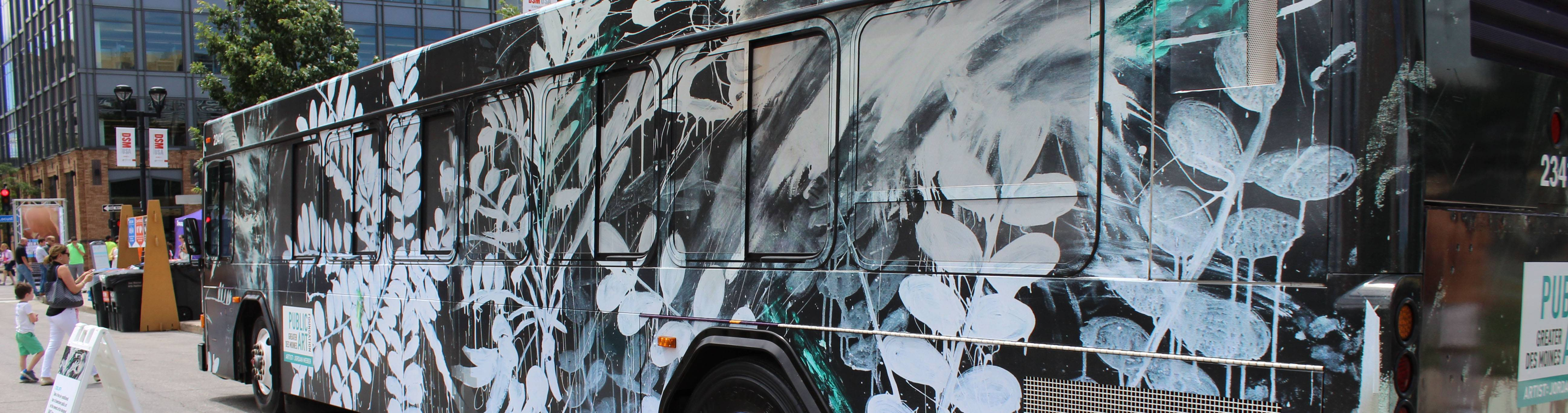 Public Art Foundation Commissions Sixth Public Art Bus